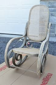 100 Rocking Chair Wheelchair Painted Using Fusion Mineral Paint Homestead Blue