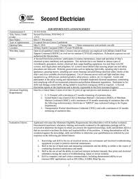 Oil And Gas Electrician Resume Sample