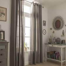 rideau chambre parents rideau metis taupe 135 x 260 cm leroy merlin chambre parents