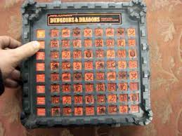 1980 Dungeons Dragons Electronic Board Game