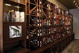 Vigilant Wine Cubes Used To Create Unique Wall Displays For The Retail Stores Bottles
