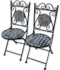 Woodside Set Of Two Decorative Mosaic Folding Garden How To ... Slim Folding Ding Chair Steel Folding Chair With Twobrace Support Graphite Seatgraphite Back Base 4carton Vintage Metal Gaing Clamp Zinc Designed For 78 Tube Frame Directors Style Iron Frame And Wooden Top New Port Ding Yacht Genuine Leather Chairiron And Chaircafe Buy Restaurant Chairgenuine Chairs Zimtown 8 Pack Fabric Upholstered Padded Seat Home Office Walmartcom Amazoncom Easty Alinum Alloy Storage Bag Outdoor 4 Pack Black Wood Vinyl