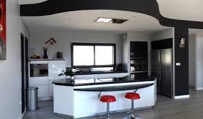 cuisine moderne ouverte cuisine americaine moderne design idee decoration cuisine