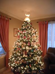 Sears Canada Pre Lit Christmas Trees by Prettiest Christmas Tree How To Make Own Toppers Better Homes