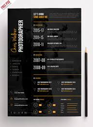 Photographer Resume CV PSD Template   PSDFreebies.com Leading Professional Senior Photographer Cover Letter 10 Freelance Otographer Resume Lyceestlouis Resume Example And Guide For 2019 Examples Free Graphy Accounting Sample Full Writing 20 Examples Samples Template Download Psd Freelance New 8 Beginner 15 Design Tips Templates Venngage