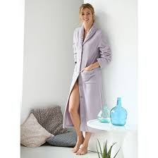 robe de chambre en robe de chambre en maille polaire weyburn la redoute