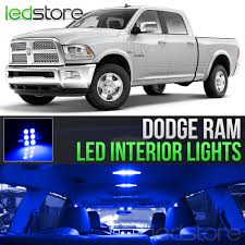 100 Led Interior Lights For Trucks 20092018 Dodge RAM 1500 2500 3500 Blue LED Kit