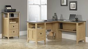 Sauder L Shaped Desk by Sauder L Shaped Desk Dover Oak Finish Best Home Furniture Decoration