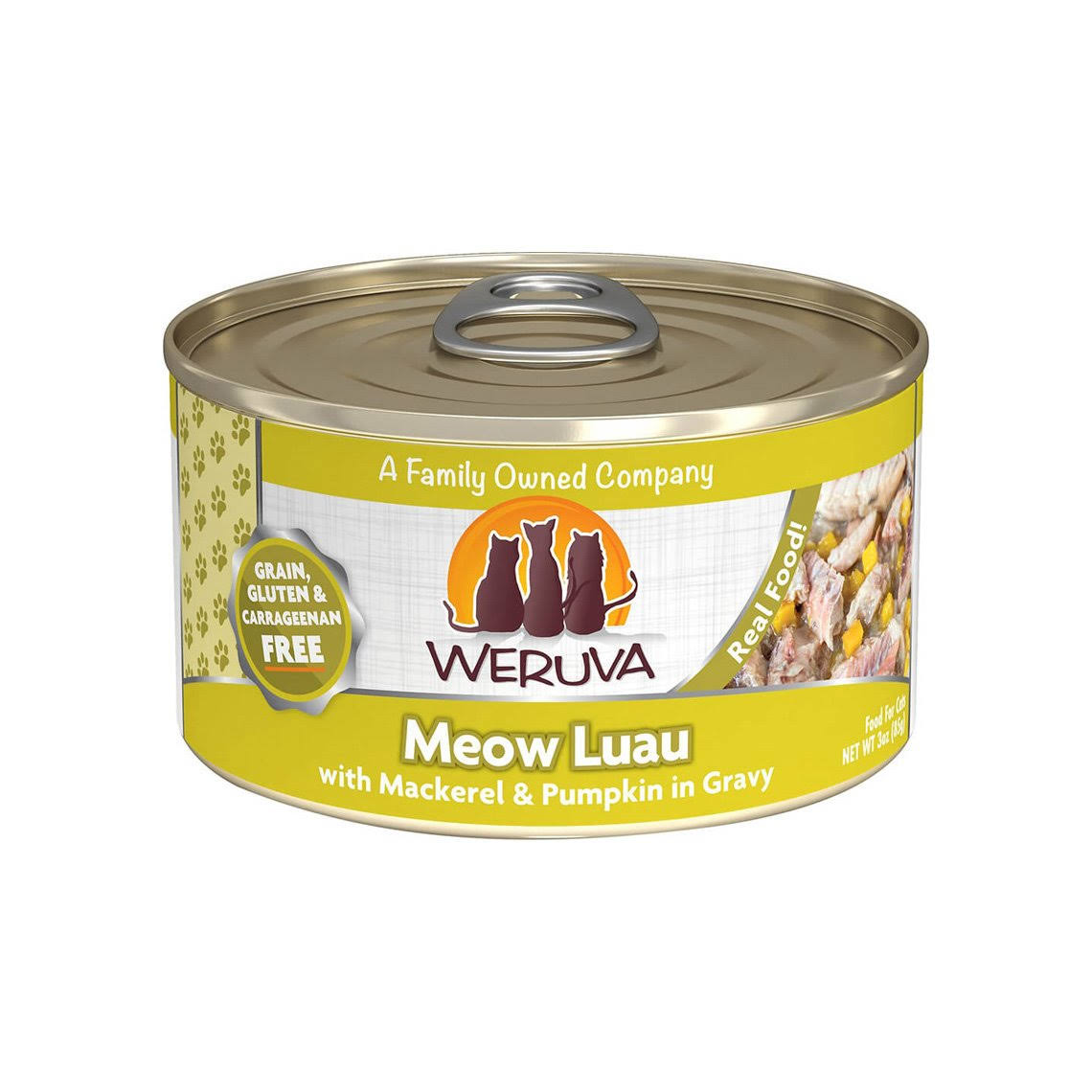 Weruva Grain-Free Canned Cat Food Meow Luau - 3oz