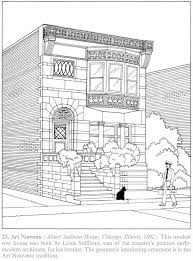 Creative Haven The American House Architecture Coloring Book Welcome To Dover Publications