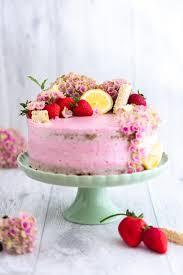 erdbeer zitronen torte