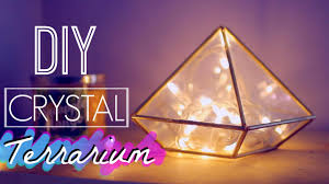 DIY Easy Crystal Terrarium