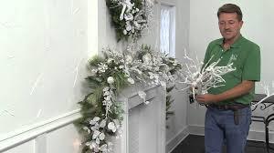 Raz Christmas Trees by Raz Imports Arctic Palace Mantel Youtube
