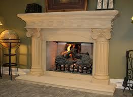 Fireplace wood mantels