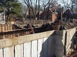 Construction Of Basement by Trinity College Hillel House Hartford Ct