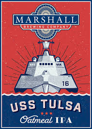 Deschutes Red Chair Release by What The Ale Marshall To Release Uss Tulsa Beer On Saturday