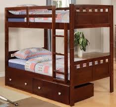 kids bedroom design with wooden bunk bed home interior design