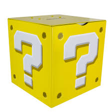 Super Mario Question Block Lamp Uk by Super Mario Money Box Question Block Forbiddenplanet Com Uk