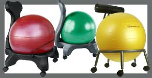 Yoga Ball Office Chair Amazon by Ball Chair For Desk Exercise Balls For The Office Yoga Ball Office