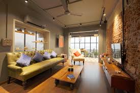 industrial style residence at versova industrial