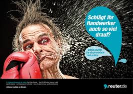 reuter badshop plakatserie entwurf on behance