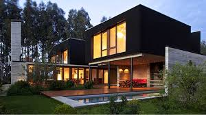 100 Modern House Architecture Plans With Beautiful Yellow Interior And