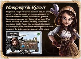 Margaret E Knight American Inventor