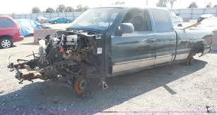 100 Truck Salvage Wichita Ks 2003 Chevrolet Silverado 1500 Pickup Truck Item I1285 SO