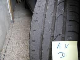 usure anormale des pneus de mon modus défense de l usager