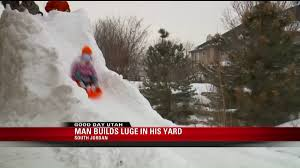South Jordan Man Builds Luge Track In Backyard | Fox13now.com Tucker Wests Backyard Luge Track Nbc Olympics Twostory Ice Dominates Cnn Video Backyard Course With High Turns And A Few Crashes Youtube Genius Dad Builds Luge Course Roller Coaster Jukin Media Youtube Ideas Pam On The Run 1 Barrie Dad Builds 150metre In His Toronto Star Backyards Modern Snowboard Jump 2010 14 The West Finds Passion For