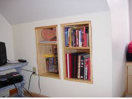Shelves In A Knee Wall Dianabuild Within Proportions 2592 X 1944