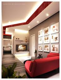 living room trendy black and red living room design red and