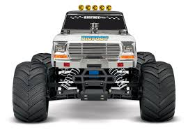 100 Biggest Monster Truck New BIGFOOT No 1 Flame RC Traxxas