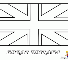 Trend British Flag Coloring Page 46 In Picture With An Attribute Of 15 Image