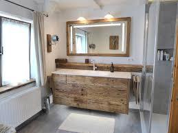 badrenovierung mit altholz und beton optik artweger