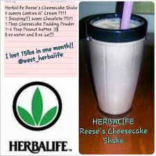 Pumpkin Spice Herbalife Shake Calories by Herbalife Reese U0027s Cheesecake Shake Add 8 Oz Of Cold Water To Your