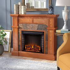 Three Posts Gaskins Market Electric Fireplace & Reviews