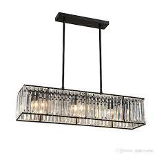 großhandel kristallleuchter schwarz bronze hangl moderne kronleuchter mit 6 leuchten esszimmer leuchten industrie lam dpgkevinfan 270 25 auf