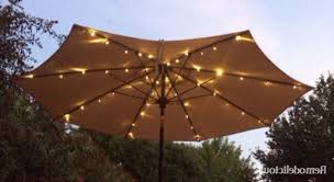 Solar Lighted Patio Umbrella by Patio Umbrella Solar Led Lights Finally U2013 Remodelicious
