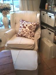 Oversized Wingback Chair Slipcovers by Decorating Wingback Chair Covers Sofa Slipcover Wing Chair