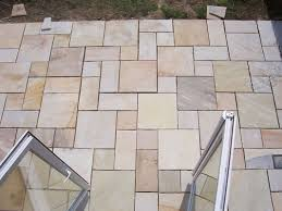 Patio Slabs by Patio Slabs And Turf Laid Mr Parker Builders Lincolnshire