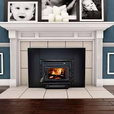 Fireplaces Burning Unique Splashy Zero Clearance Fireplace Technique