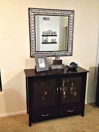Amazon Com Wine Bar Buffet Mesmerizing Dining Room Cabinet With Rack
