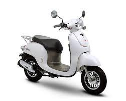 retro roller citycruiser 50 49 perlweiß motorroller scooter