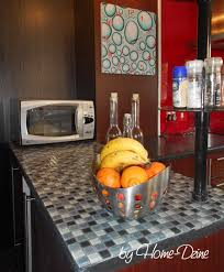 home dzine kitchen apply mosaic tile to kitchen countertops