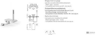 tres slim exclusive badewannen armatur wannenrandbatterie 20266101 chrom design für ihr badezimmer