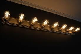 cozy design bathroom vanity light bulbs a19 led filament bulb 40