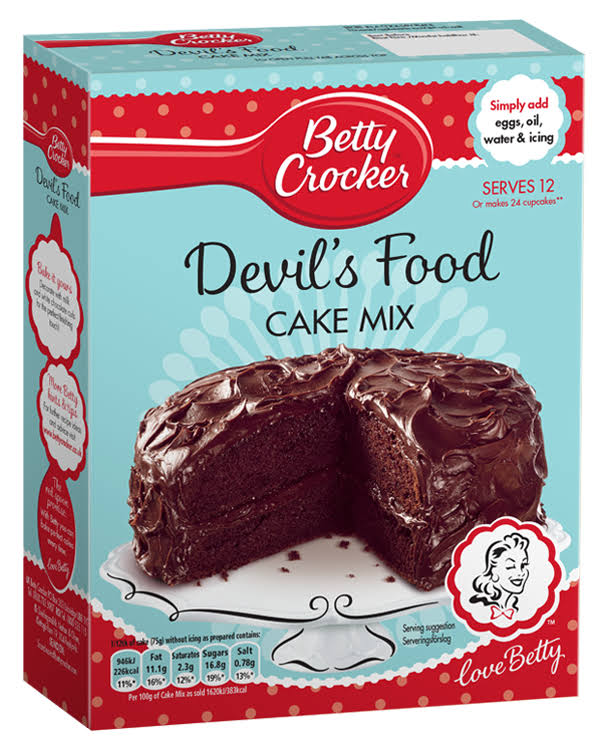 Betty Crocker Devil's Food Cake Mix - 425g
