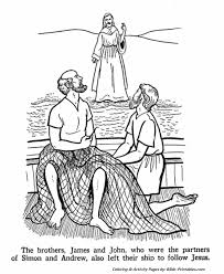 The Apostles Coloring Pages 2
