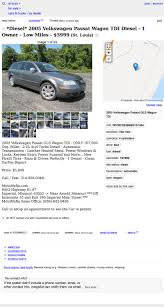 100 Craigslist St Louis Mo Cars And Trucks For 5999 Could This 2005 VW Passat TDI Be Passable